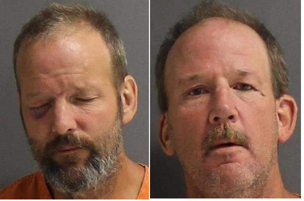 Source- Twin 52-year-old brothers are facing the same charge after throwing bricks at each other during an argument, Orange City police said. Michael and James Remelius were arguing with each other in the front yard of a home in the 600 block of Howard Avenue about 8:45 p.m. Tuesday when Michael picked up a brick and threatened to throw it at his brother, according to a police report. James then picked up a brick in a threatening manner. Michael threw his brick and hit his brother in the leg, causing a small cut, according to the report. James then threw his brick and struck Michael in the right eye, causing bleeding and swelling. The brothers were both charged with aggravated battery with a deadly weapon and taken to Volusia County Branch Jail, where James was being held Wednesday on $25,000 bail, records show. Michael's bail is set at $20,000.
