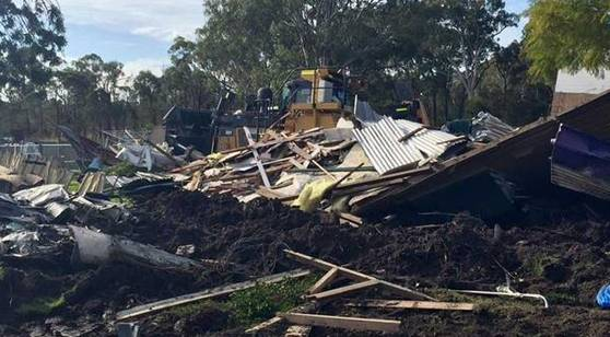 A man has allegedly demolished a house full of people with a stolen bulldozer. Police arrested the man who reportedly took the vehicle to chase another man down the street, before ploughing it into the house in Lake Macquarie, east Australia. He is expected to be charged with attempted murder along with 10 other charges. Amazingly the woman and her two daughters who were in the house at the time escaped unharmed. Somehow a neighbour anticipated this bizarre incident and managed to usher the woman and her children to safety before their house was turned into a building site.
