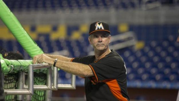 "he plan appears simple enough: The Miami Marlins this week will ask Dan Jennings to step down as manager and resume his role as GM, according to major-league sources. The change, if Jennings agrees, would occur at the end of the season. The Marlins then would seek to hire an experienced manager, sources say. Neither move would qualify as a surprise; the return of Jennings to the front office was a strong possibility from the moment the Marlins shocked the baseball world by naming him to replace Mike Redmond as manager on May 18. But as always with the Marlins, things might not be as simple as they seem. Clark Spencer of the Miami Herald reported Tuesday night that the team plans, ""sweeping changes to its baseball operation, from player development and scouting, all the way up to the front office."" Spencer wrote that Jennings could return to the front office, but not necessarily as GM. History shows that anything is possible with the Marlins under owner Jeffrey Loria. Adding to the uncertainty: The power dynamics within the organization have shifted since Jennings left the front office to become manager. Loria routinely sours on his managers; his next one will be the Marlins' eighth in the past 11 seasons. His relationship with Jennings, which once was quite close, deteriorated as the team struggled, sources say. The departure of Jennings from the front office, meanwhile, resulted in the promotion of assistant GM Mike Berger to GM. Berger and other Marlins officials have sought to expand their influence, sources say, creating the potential for a power struggle if Jennings returns to his previous role. Justin Bour helps Marlins to victory over Braves One source downplayed that possibility, saying that any tension within the organization reflects nothing more than the frustration of a disappointing season -- and that the return of Jennings to the front office would help the Marlins focus on upgrading the club. Berger, however, has a longstanding relationship with Loria, going back to the days when Loria owned the Oklahoma City 89ers, then an affiliate of the Texas Rangers, in the early 1990s. And Jennings, who is under contract to the Marlins through 2018, has strong interest in pursuing the Seattle Mariners' GM opening, sources say -- an indication that he might finally be restless under Loria, for whom he has worked since '02. The Marlins, after going 16-22 under Redmond, are 38-57 under Jennings. Injuries have contributed to the team's difficulties -- right fielder Giancarlo Stanton has not played since suffering a hamate fracture in his left wrist on June 26, and ace right-hander Jose Fernandez did not make his season debut until July 2 while recovering from Tommy John surgery. The team also had a spotty offseason, making a strong addition with its trade for second baseman Dee Gordon but stumbling with its acquisitions of righty Mat Latos and first baseman Michael Morse, both of whom later were traded to the Los Angeles Dodgers. The Marlins, regardless of how their palace intrigue plays out, plan to add to the core of their club, sources say. FOX SPORTS DAILY MLB TEAM EDITION MLB News To Your Inbox! CHOOSE YOUR TEAM(S) *By clicking ""SUBSCRIBE"", you have read and agreed to the Fox Sports Privacy Policy and Terms of Use. SUBSCRIBE The addition of a No. 2 starting pitcher behind Fernandez will be one priority, the addition of a closer another; the Marlins attempted to land the Reds' Aroldis Chapman at the non-waiver deadline, sources say. First things first: The Marlins need to find out if Jennings will resume his old responsibilities, figure out who will be their next manager and GM. The palace intrigue is thick. It's business as usual under Loria."