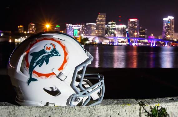 Dolphins-Throwback-Helmet
