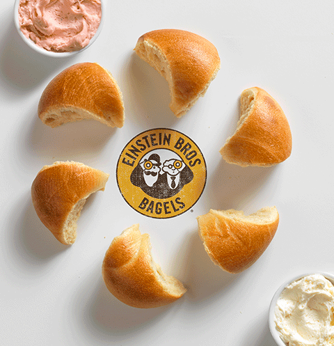 Source- There's more than one way to slice a bagel – so says Einstein Bros. Bagels. Their new Twist N' Dip bagel exposes the delicate underbelly of the bagel-eating world: those of us (myself included, TBH) who snub the traditional hemispheric slice-and-schmear method in favor of breaking off bits of bagel and dipping them in the cream cheese a little or a lot at the time (double-dipping encouraged).