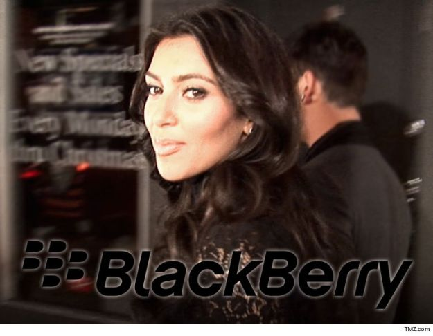 TMZ- Kim Kardashian's life motto is firmly cemented .... once you go BlackBerry ... you never go back, and thanks to a top dog at the mobile company, she'll never be without her longtime companion. Kim K went into panic mode Wednesday after her BlackBerry Bold took its last gasp. The conundrum ... no Bolds no mo'.   But it's BB to the rescue ... company exec Alex Thurber tells TMZ they've got Kim covered. They're sending her their most secure Android smartphone ... a smart move that surely has Tim Cook sorely disappointed. There is a fly in the ointment. The new BlackBerry smartphones don't have the iconic keyboard, but Thurber says BB is developing an old-school keyboard for its new device. So, in the fruit basket of life ... Kim continues to choose berries over apples.