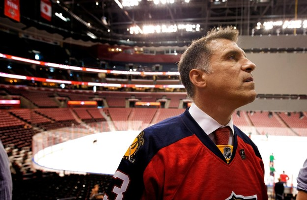 "Florida Panthers owner Vinnie Viola has been selected by President-elect Donald Trump to be the new Secretary of the Army subject to Senate confirmation. Viola, a 1977 graduate of West Point, is the founder of Virtu Financial and bought the Panthers in 2013. Read more here: http://www.miamiherald.com/sports/nhl/florida-panthers/article121729109.html#storylink=cpyTrump and Viola apparently met last week at Trump Tower in New York. ""I am proud to have such an incredibly accomplished and selfless individual as Vincent Viola as our Secretary of the Army,"" Trump said in a statement. ""Whether it is his distinguished military service or highly impressive track record in the world of business, Vinnie has proved throughout his life that he knows how to be a leader and deliver major results in the face of any challenge. ""He is a man of outstanding work ethic, integrity, and strategic vision, with an exceptional ability to motivate others. The American people, whether civilian or military, should have great confidence that Vinnie Viola has what it takes to keep America safe and oversee issues of concern to our troops in the Army."" Viola, who founded the Combating Terrorism Center at West Point following the attacks of Sept. 11, 2001, says the nomination is a ""great honor."" Read more here: http://www.miamiherald.com/sports/nhl/florida-panthers/article121729109.html#storylink=cpy""If confirmed, I will work tirelessly to provide our president with the land force he will need to accomplish any mission in support of his National Defense Strategy,"" Viola said in the release. ""A primary focus of my leadership will be ensuring that America's soldiers have the ways and means to fight and win across the full spectrum of conflict. This great honor comes with great responsibility, and I will fight for the American people and their right to live free every day."" Read more here: http://www.miamiherald.com/sports/nhl/florida-panthers/article121729109.html#storylink=cpyAccording to the Florida Panthers, ownership of the team would remain in the Viola family pending confirmation. Doug Cifu, a partner of Viola's with the Panthers as well as Virtu Financial, would become chairman and governor of Sunrise Sports and Entertainment. ""Our hockey team has always been proud to be part of Mr. Viola's legacy,"" Florida's Dale Tallon said. ""We admire his dedication to his country and are excited to watch him pursue this new endeavor."" Read more here: http://www.miamiherald.com/sports/nhl/florida-panthers/article121729109.html#storylink=cpySaid Panthers CEO and West Point graduate Matthew Caldwell: ""We are honored and humbled to see Mr. Viola nominated as the Secretary of the Army. We could not be more proud for Vinnie and his dedication to our country."" Read more here: http://www.miamiherald.com/sports/nhl/florida-panthers/article121729109.html#storylink=cpy"