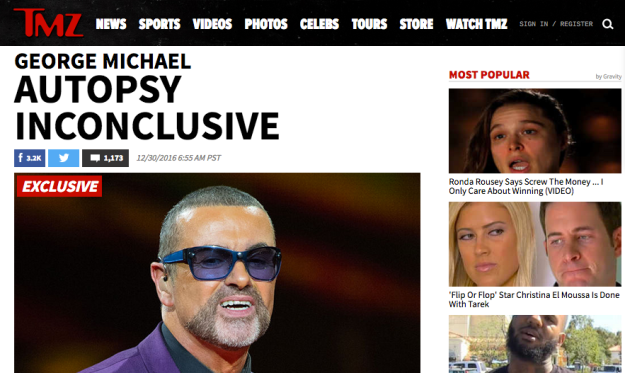 "George Michael's death has become suddenly mysterious, because we've learned the autopsy was inconclusive as to cause of death. Law enforcement says there will be further tests performed to pinpoint why Michael died on Christmas day, in his sleep. We were told earlier the medical examiner would perform toxicology tests. Sources denied there was any evidence Michael OD'd, but it is interesting the autopsy showed no apparent reason why the singer passed.   Law enforcement calls the death ""unexplained but not suspicious."" Michael struggled with drug use for years.  He had also gained a tremendous amount of weight in the months leading up to his death."